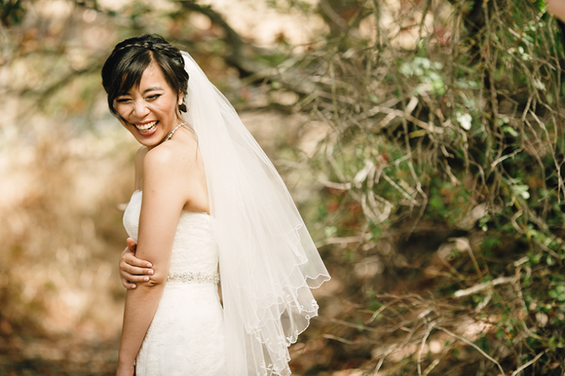 Los Angeles Bridal portrait in Hollywood by Matthew Leland Photography