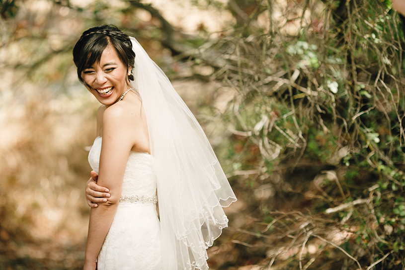 Smiling brides are the best brides