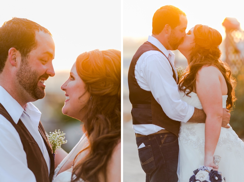 romantic summer wedding at sunset at the double t in stevinson california by matthew leland photography