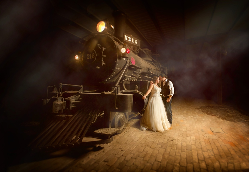 Fine Art edgy wedding photography at the Double T in Stevinson California by Matthew Leland Photography