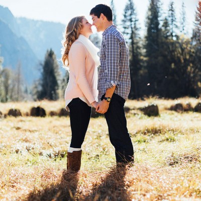 Yosemite engagement and proposal in Northern California by Matthew Leland Photography