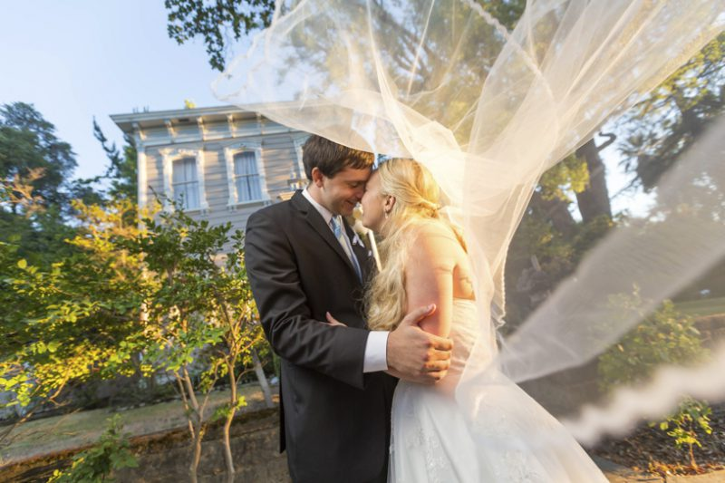 Romantic artistic portrait in Midtown Sacramento by Matthew Leland Photography