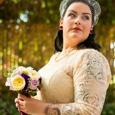 tattooed bride by top wedding photographer matthew leland