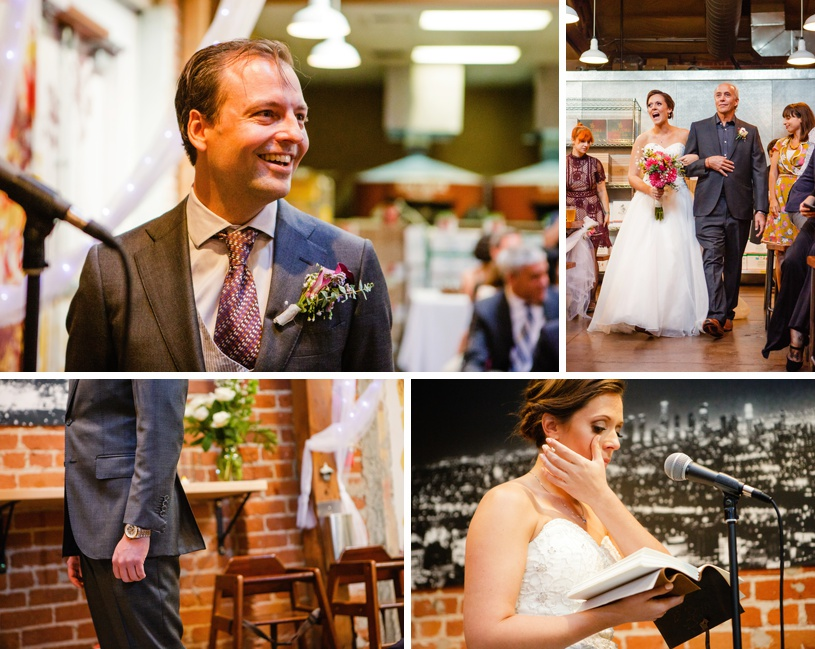 los angeles offbeat wedding pizza party