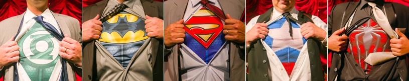 Super hero Groomsmen ideas