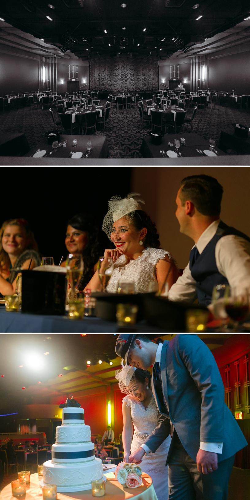 Fontana Theatre wedding reception